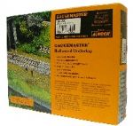 Gaugemaster  -  GM200  OO/ HO Scales  Flexible Grey Ballasted Underlay
